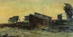 Paper Landscape Paintings
