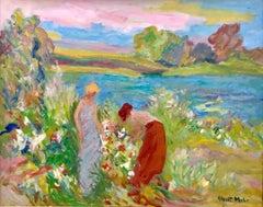 """Tending the Flowers"""