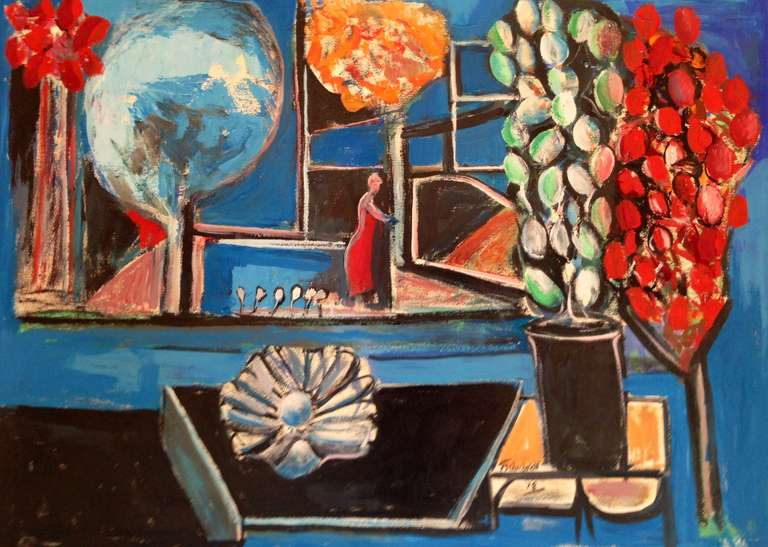 """""""Figure with Flowers"""""""