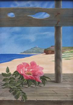 "Wynn Chamberlain - ""Montauk Rose"""