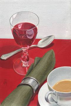"""""""Still Life with Red Wine"""""""