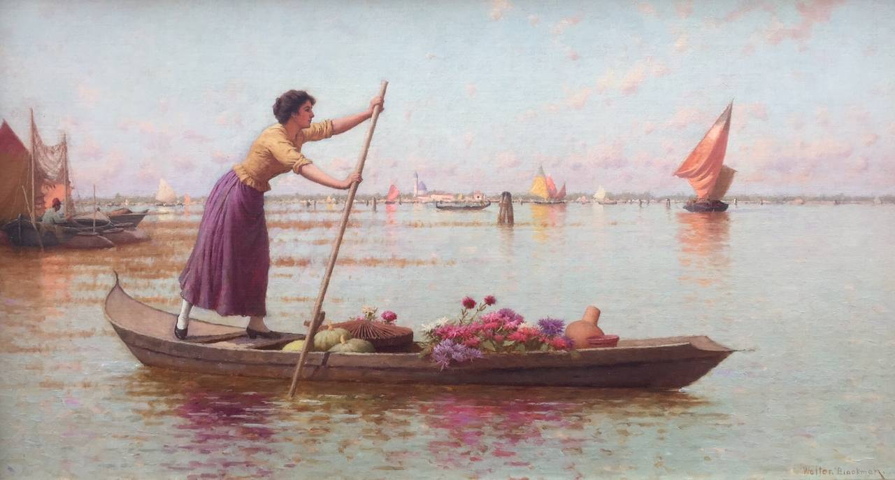 """Venetian Market Girl"""