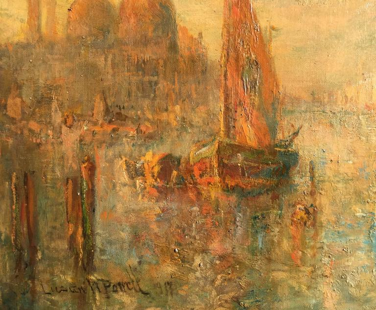 """Lucien Whiting Powell - """"Grand Canal, Venice"""", Painting at ..."""