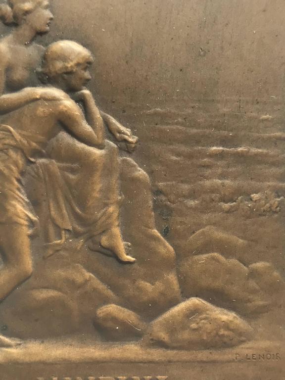 """L'Infini"" - Academic Sculpture by Pierre Charles Lenoir"
