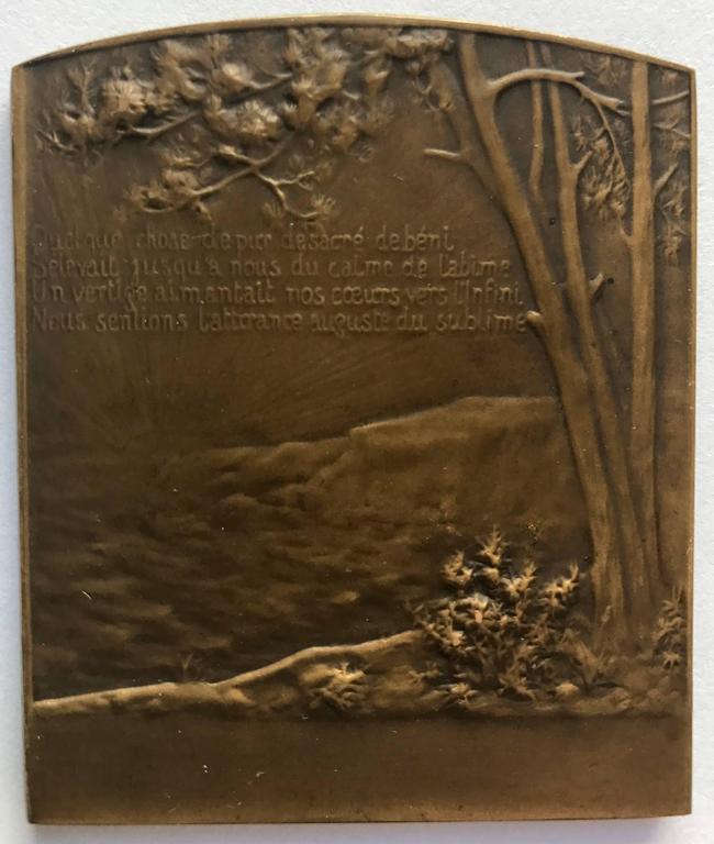 """""""L'Infini"""" - Sculpture by Pierre Charles Lenoir"""
