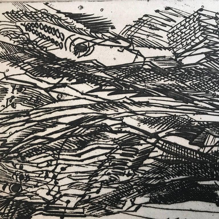 """Untitled"" - Surrealist Print by Nahum Tschacbasov"