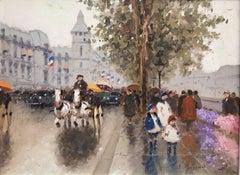 """""""Flower Market along the Seine"""""""