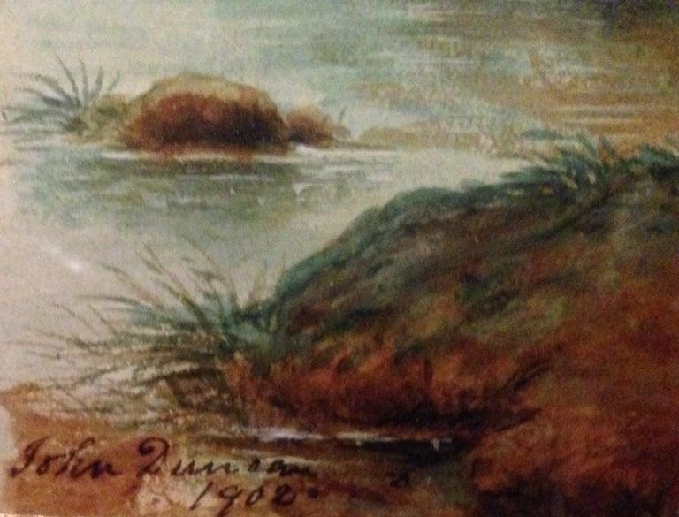 """Dead Gull"" - Painting by John Duncan"