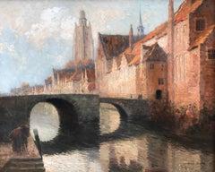 """""""Canal in Bruges, Belgium"""""""