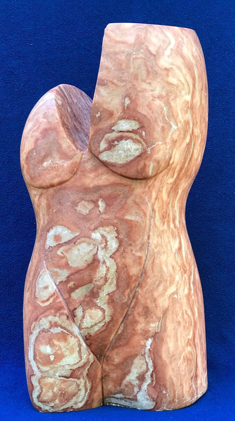 """Unknown Figurative Sculpture - """"Female Torso"""""""