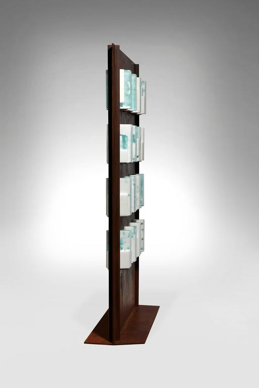 Story Board by Perrin&Perrin - Gray Abstract Sculpture by Perrin & Perrin