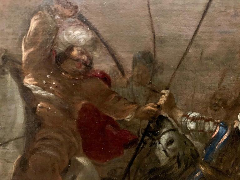 17th century orientalist battle - Orientalist Turkish Arabian Cavalry Skirmish  2