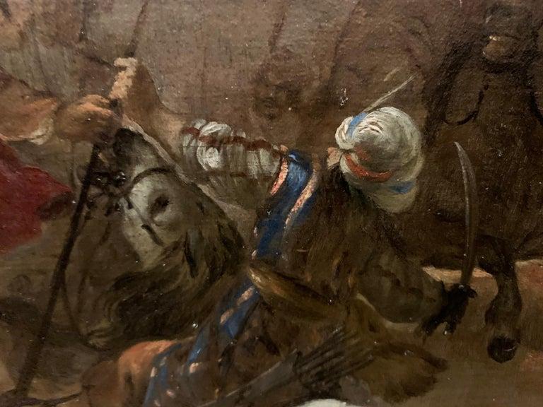 17th century orientalist battle - Orientalist Turkish Arabian Cavalry Skirmish  4