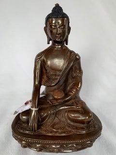 Lost Wax  Process Handcrafted Shakyamuni Buddha statue