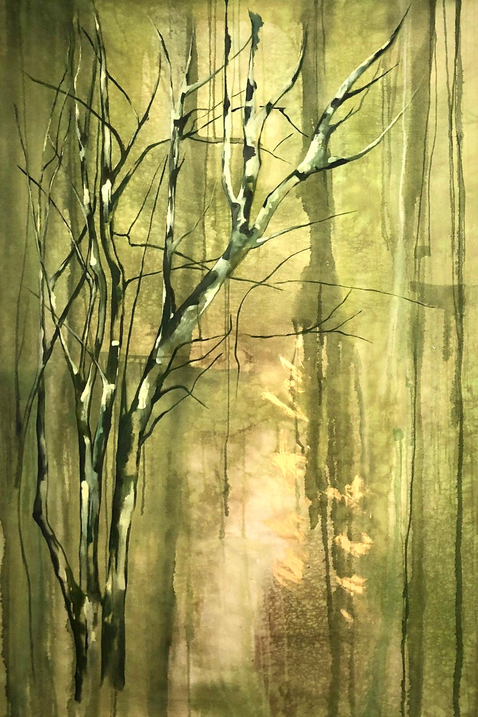 """""""Almendro Verde I"""", Canvas"""