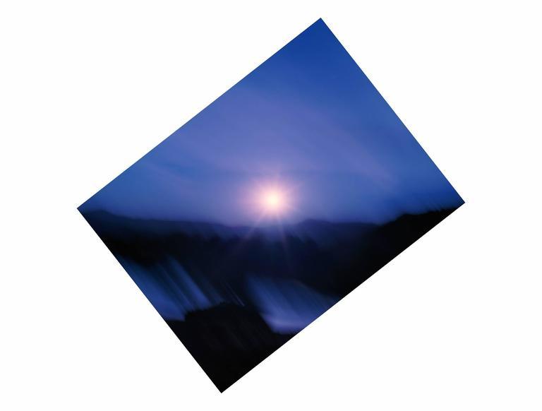 38.16° N 107.73° W Sunset Dallas Divide