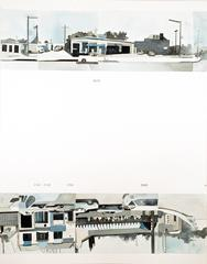 Ed Ruscha's Every Building on the Sunset Strip #41
