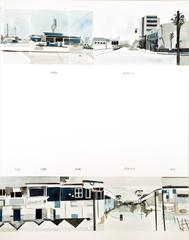 Ed Ruscha's Every Building on the Sunset Strip #47