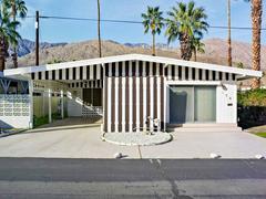 Palm Springs 04 Brown Stripes, Sahara Mobile Home Park