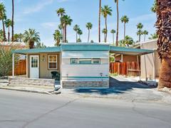 Palm Springs 29 Blue Trim, Blue Skies Village