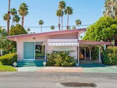 Palm Springs 43 Pink, Sahara Mobile Home Park