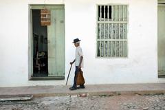 Man with Cane, Trinidad, Cuba