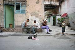 Chess Game, Havana, Cuba