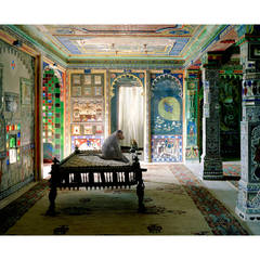 Karen Knorr - The Private Audience, Aam Khas, Junha Mahal, Dungarpur