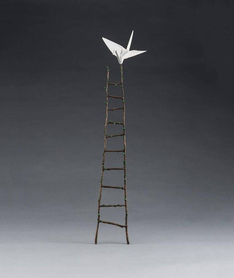 Messenger (Mini) - Sculpture by Kevin Box
