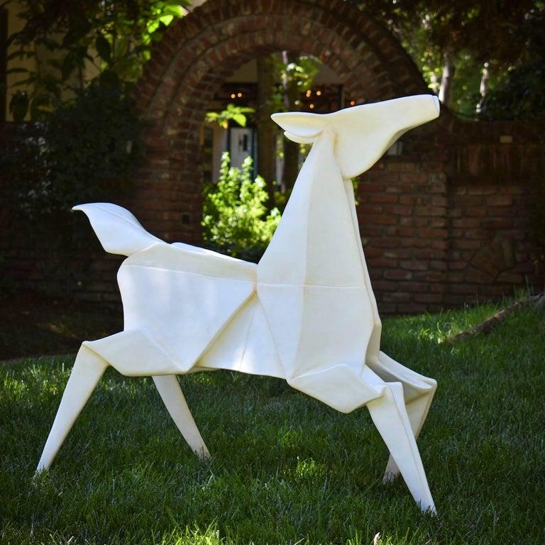 Kevin Box Figurative Sculpture - Dancing Pony