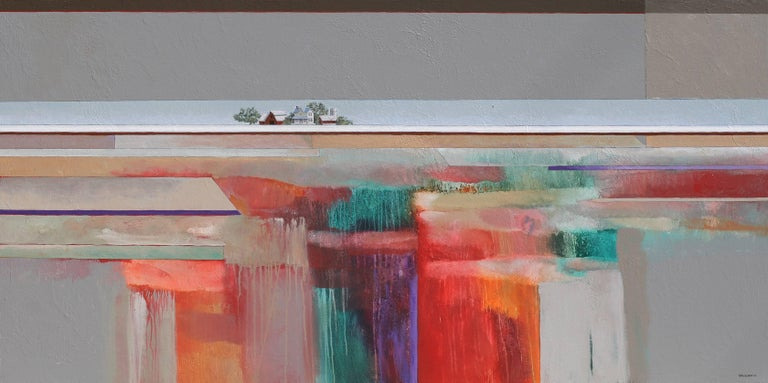 Doug Smith Abstract Painting - Doing What's Natural