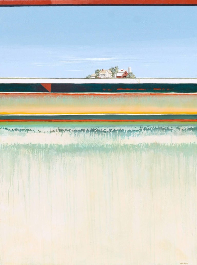 Doug Smith Abstract Painting - Home at Last