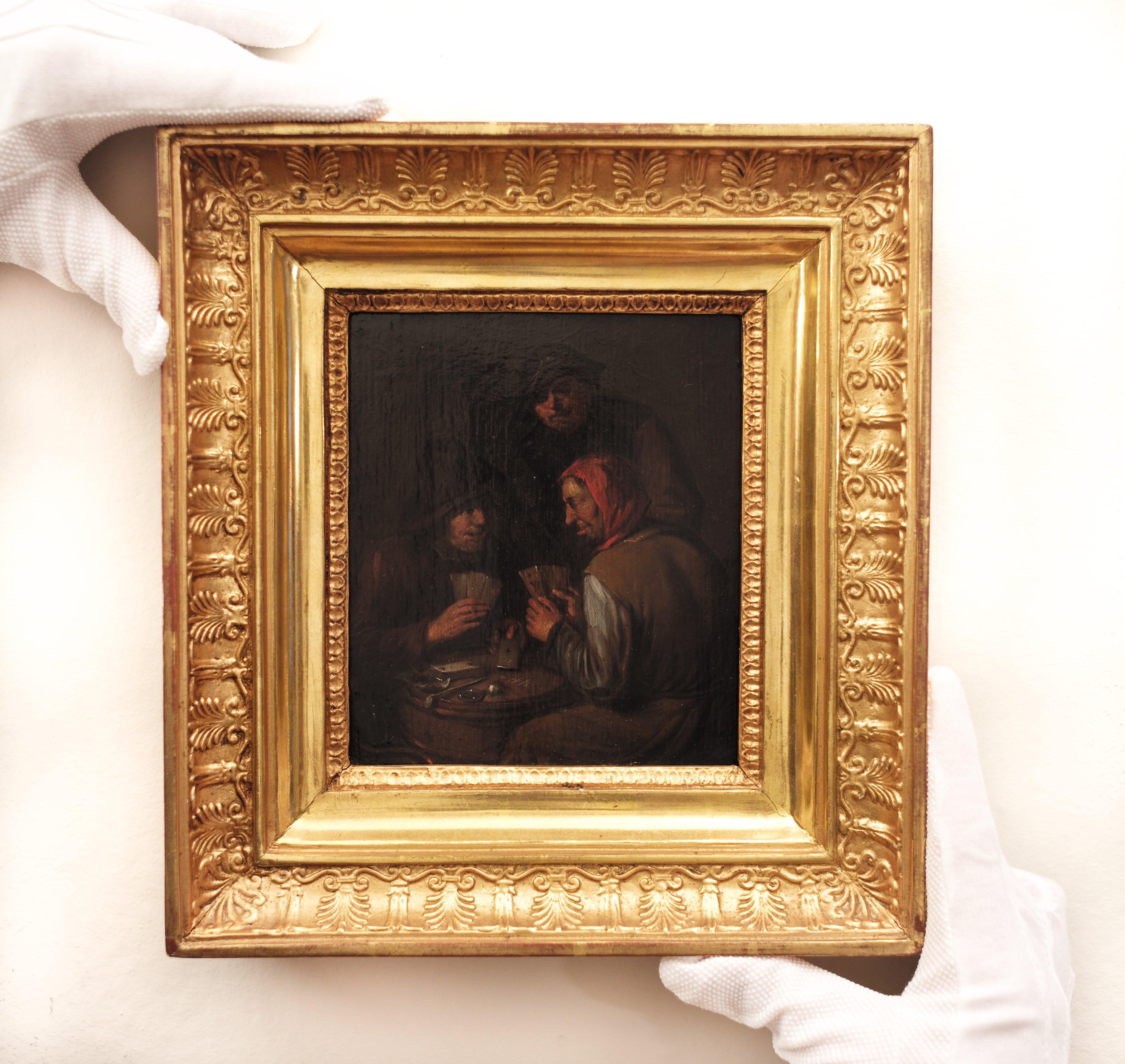 The Card Players by Egbert I Van Heemskerck, Old Master