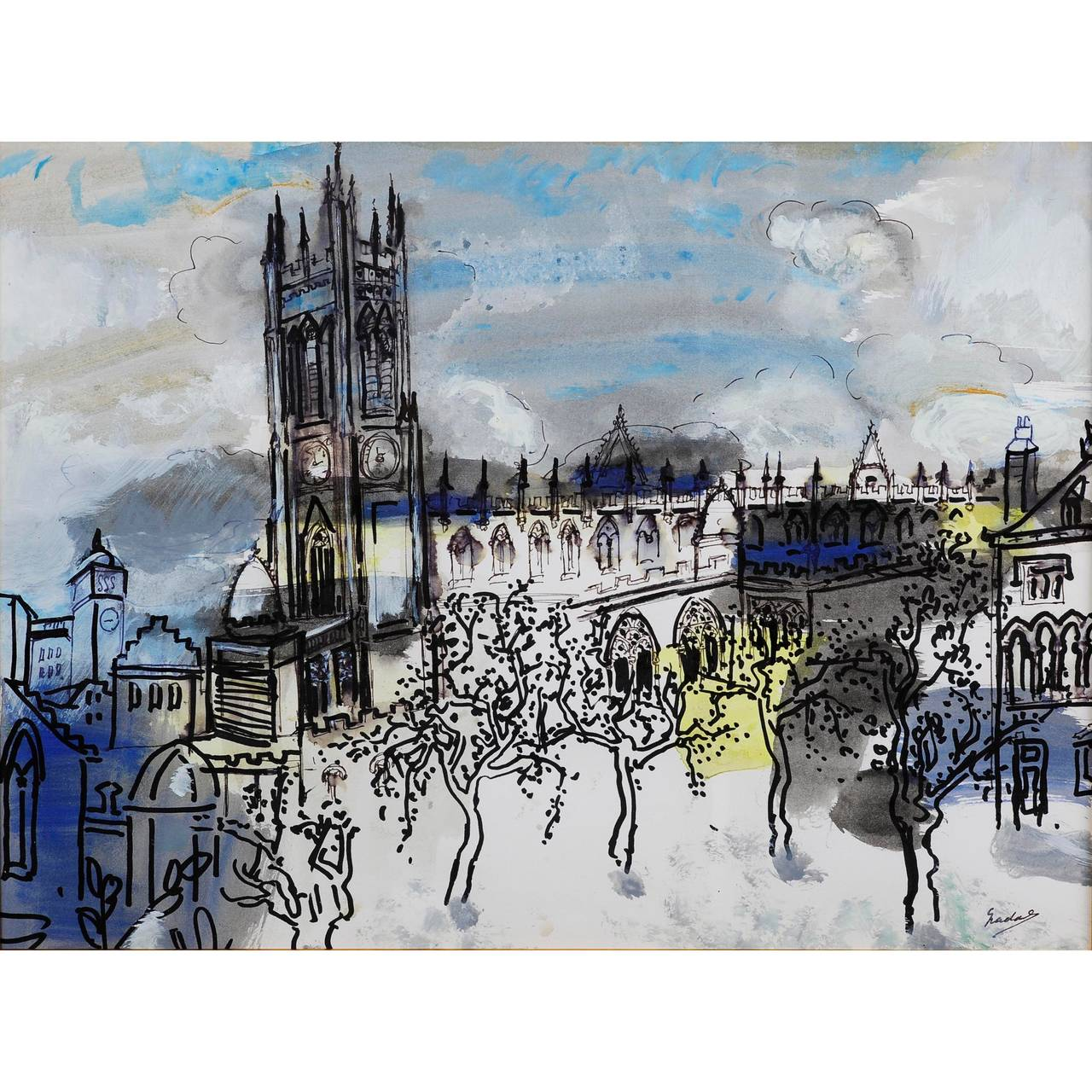 Carlos Nadal Manchester Cathedral At 1stdibs