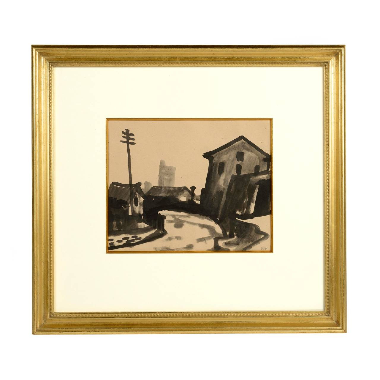 Sir Kyffin Williams Barking Church At 1stdibs