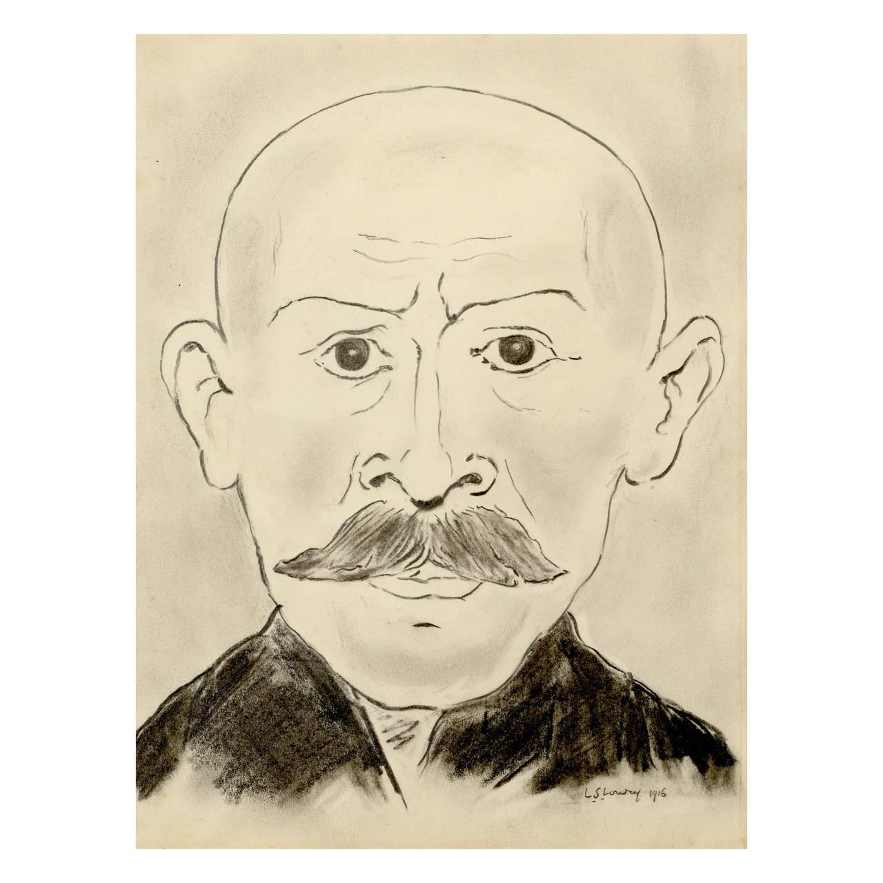"""Man with Moustache"""