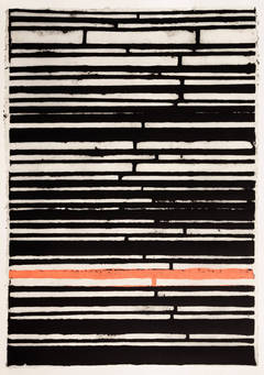 Black Stripes with Pink One