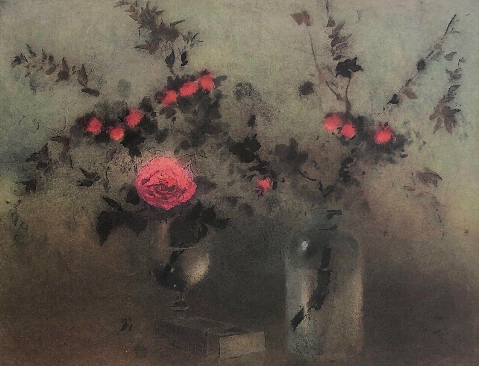 Roses, Original Lithograph, Kaiko Moti