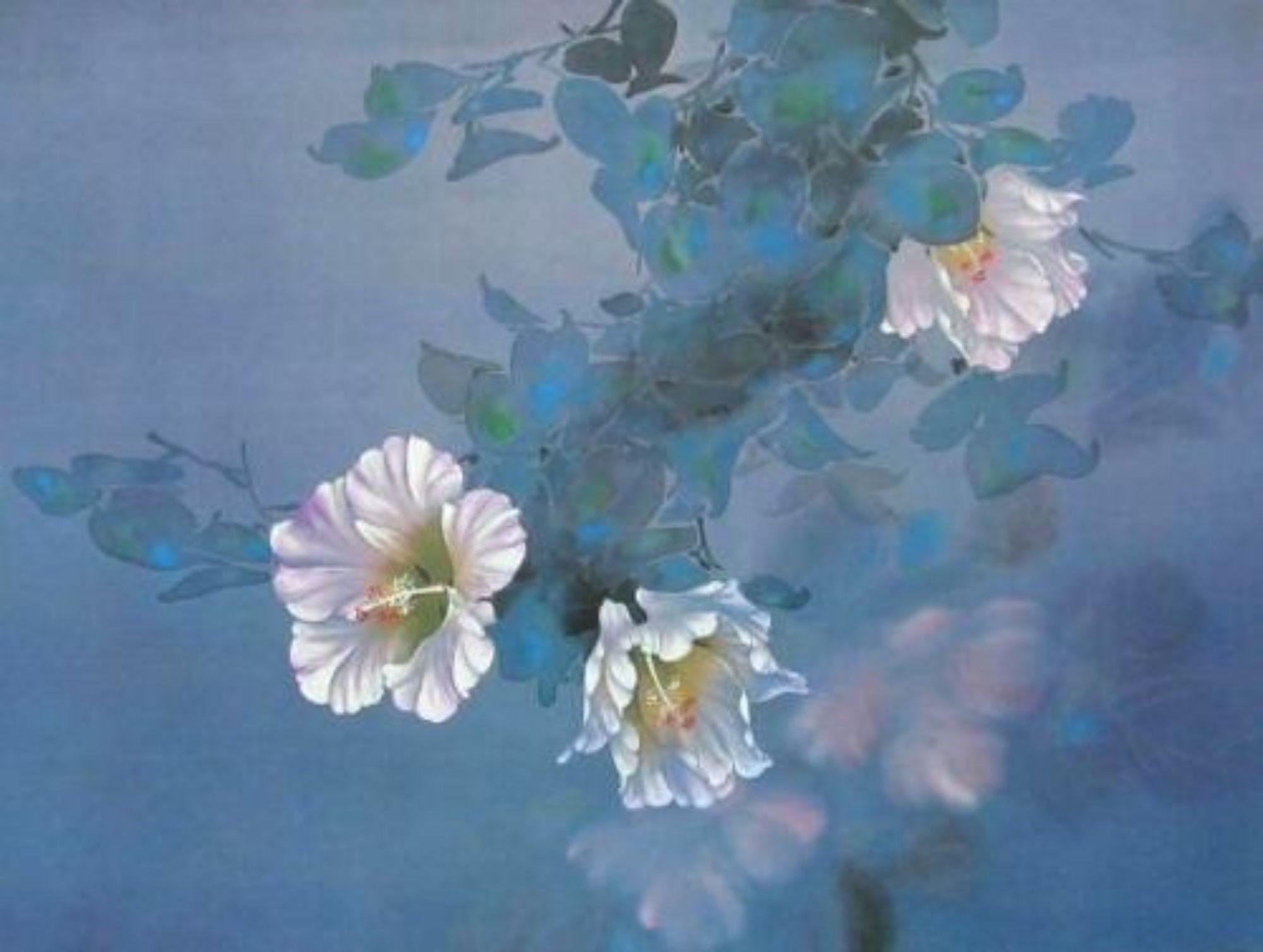Lavender Light, Original Lithograph, David Lee