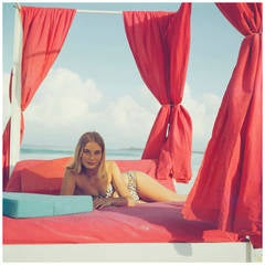 Tania Mallet in the Bahamas