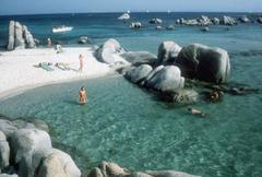 Cavallo Bathers, Corsica (Estate Edition, Free Shipping)