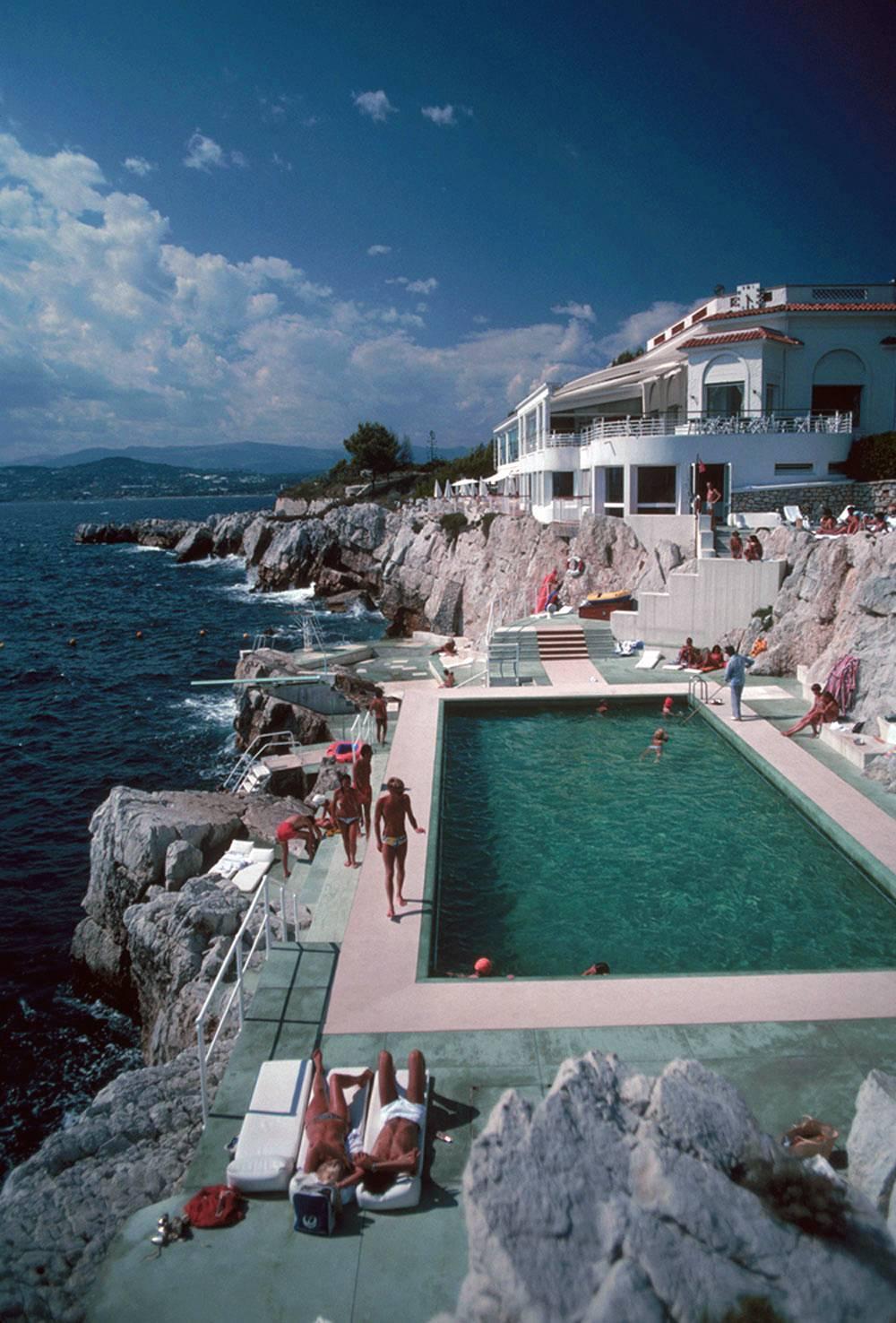 Hôtel du Cap Eden-Roc Estate Edition Photograph: Poolside in Antibes