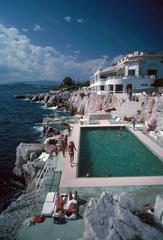 Slim Aarons -  Hôtel du Cap Eden-Roc, Eden Roc Pool, Antibes, Estate Edition, free shipping