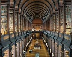 The Long Room, Trinity College Library, Dublin Ireland (3 sizes)