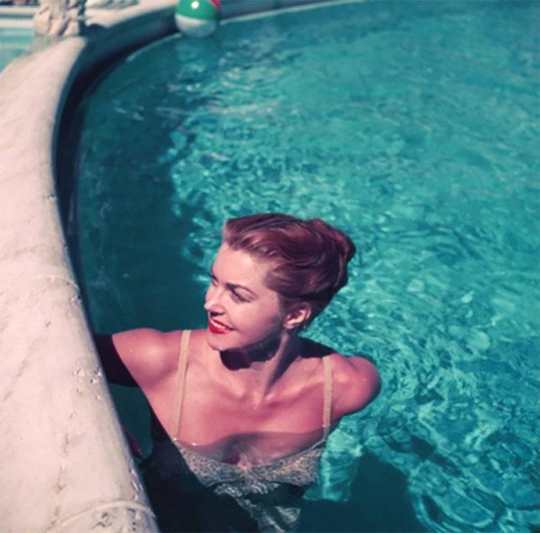 Slim Aarons 'Esther Williams Poolside' (Slim Aarons Estate Edition)