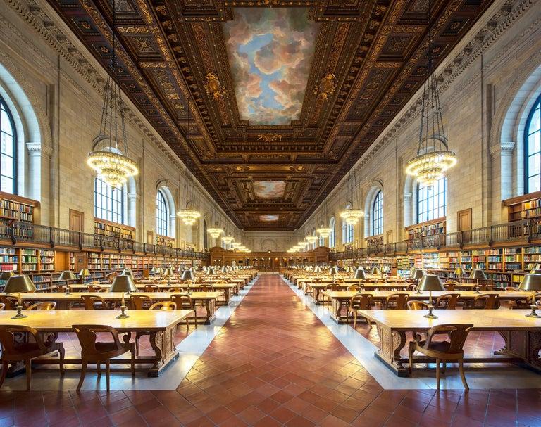 Reinhard Görner Landscape Photograph - Rose Main Reading Room (New York Public Library): Private Offer