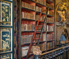 Angel with Trumpet, Biblioteca Joanina, Portugal