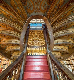 Stairway to Heaven, Lello Bookshop, Portugal