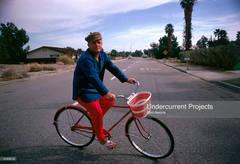 Truman Capote Cycling (Slim Aarons Estate Edition)