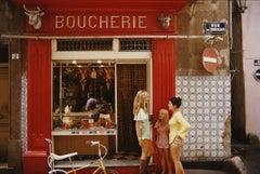 Slim Aarons 'Saint-Tropez Boucherie' (Slim Aarons Estate Edition)